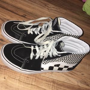 48ba6a85a8 Men s Vans Off The Wall Black Shoes on Poshmark